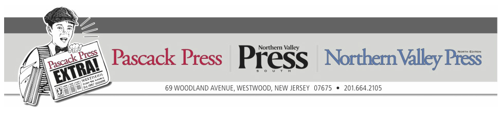 News from Pascack Press & Northern Valley Press