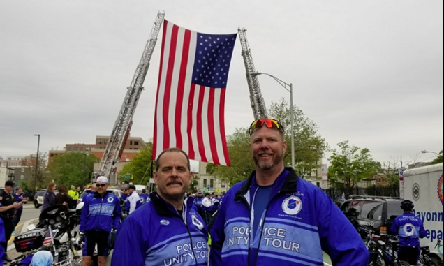 Police Unity Tour Rides 'For Those Who Died'