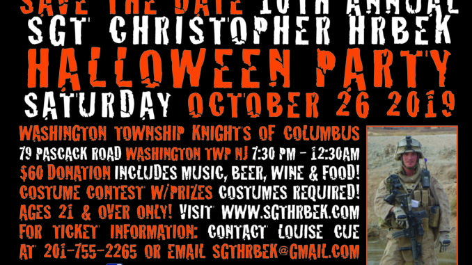 Halloween October 26th 2020 Events Bergen County Hrbek 10th annual Halloween Party Oct. 26 — Pascack Press